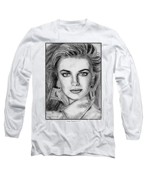 Paulina Porizkova In 1987 Long Sleeve T-Shirt