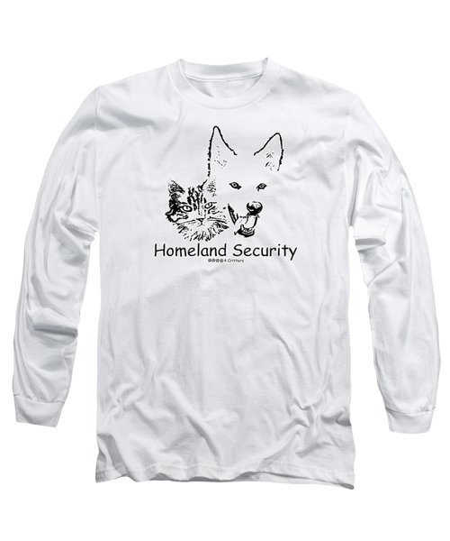 Paws4critters Homeland Security Long Sleeve T-Shirt