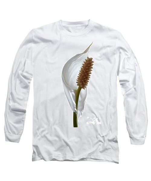 Peace Lily. Long Sleeve T-Shirt