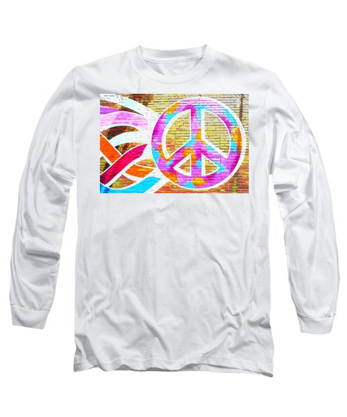 Peace Out Long Sleeve T-Shirt