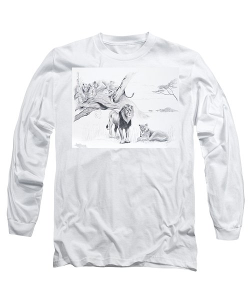 Peaceful Pride Long Sleeve T-Shirt