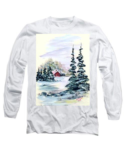 Peaceful Winter Long Sleeve T-Shirt