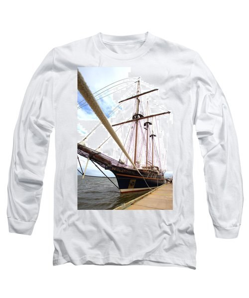 Long Sleeve T-Shirt featuring the photograph Peacemaker by Gordon Elwell