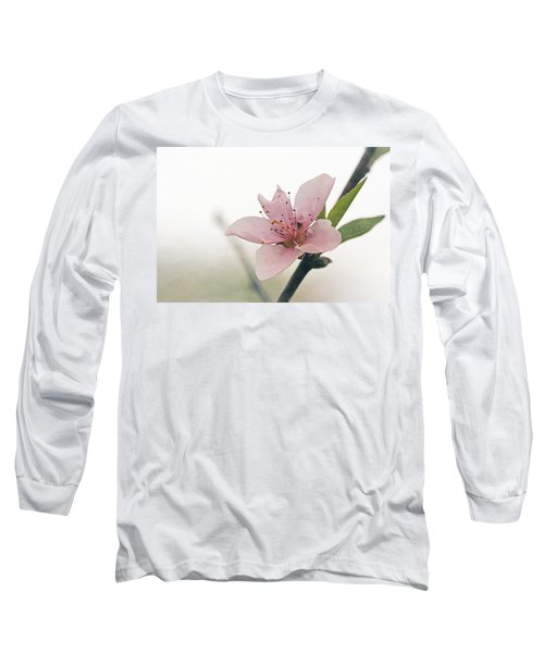 Peach Blossom Long Sleeve T-Shirt