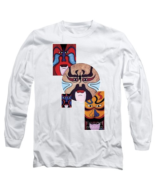Pekingopera No.2 Long Sleeve T-Shirt