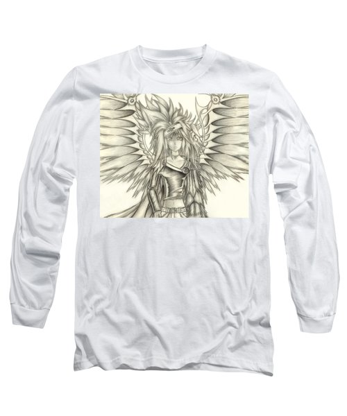Pelusis God Of Law And Order Long Sleeve T-Shirt by Shawn Dall