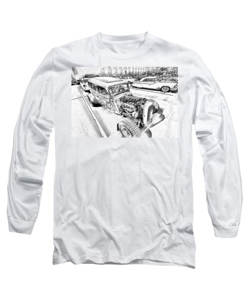 Pencil Rod Long Sleeve T-Shirt