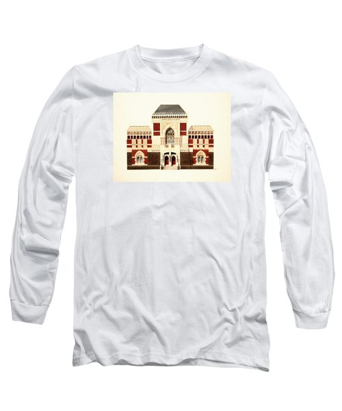 Pennsylvania Academy Of Fine Art Long Sleeve T-Shirt by William Renzulli