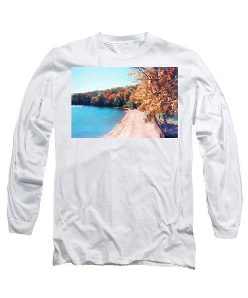 Pennsylvania Autumn 001 Long Sleeve T-Shirt