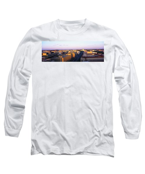 Pennsylvania Ave Washington Dc Long Sleeve T-Shirt by Panoramic Images