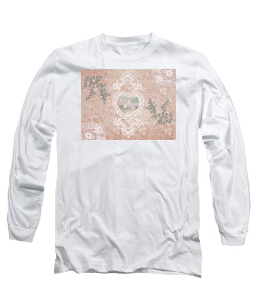Penny Postcard Passionate Long Sleeve T-Shirt