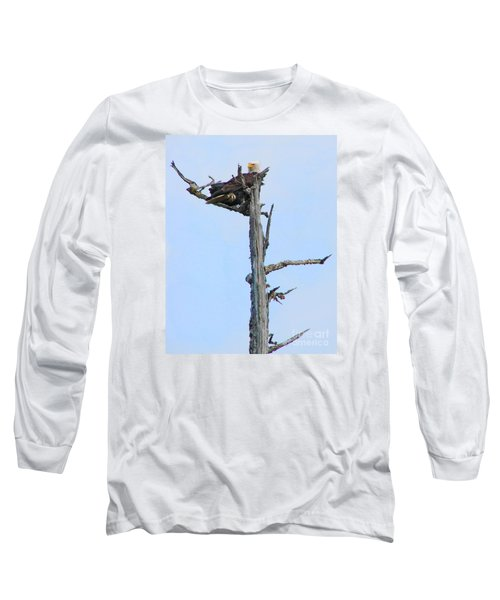 Perched Eagle Long Sleeve T-Shirt