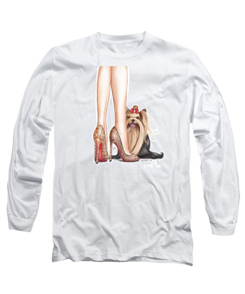 Perfect Match Long Sleeve T-Shirt by Catia Cho