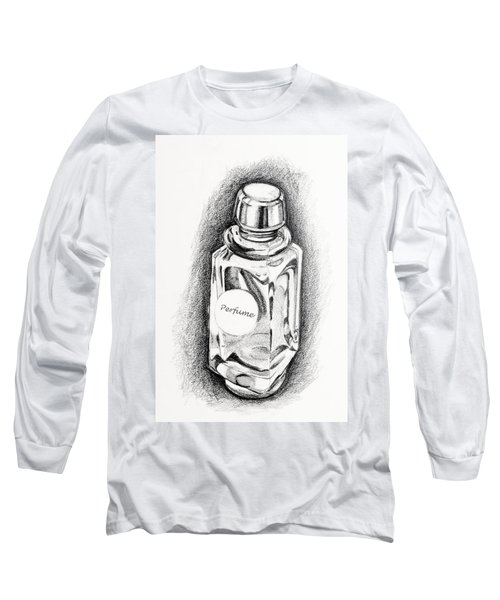 Perfume Bottle Long Sleeve T-Shirt by Vizual Studio