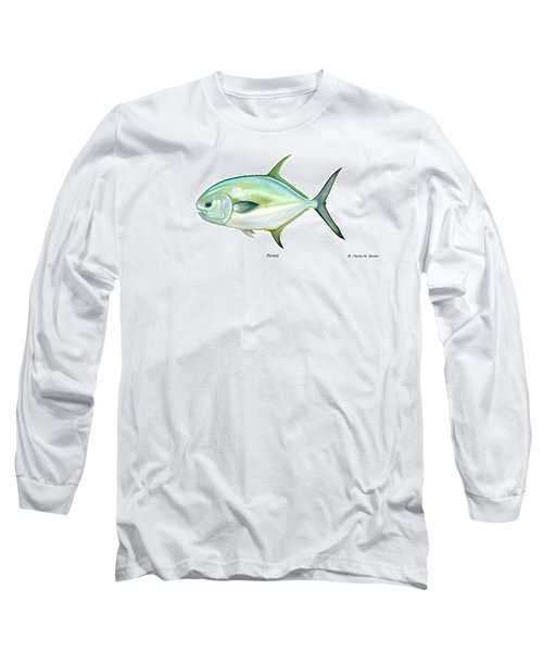 Permit Long Sleeve T-Shirt by Charles Harden
