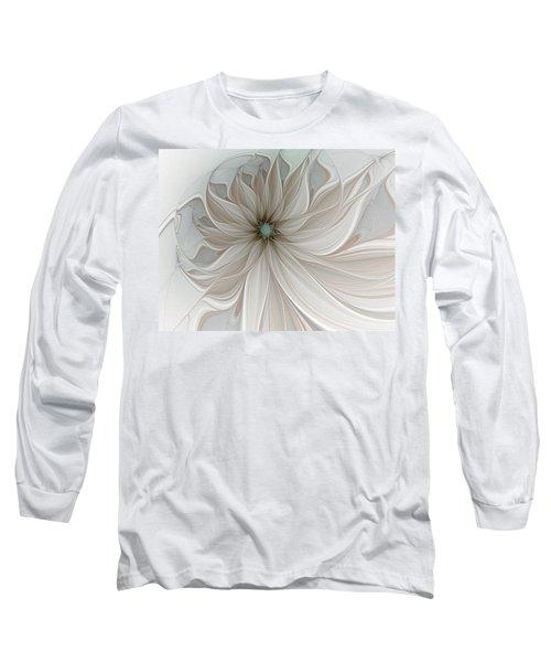 Petal Soft White Long Sleeve T-Shirt