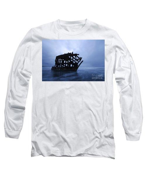 Peter Iredale Shipwreck Oregon 3 Long Sleeve T-Shirt