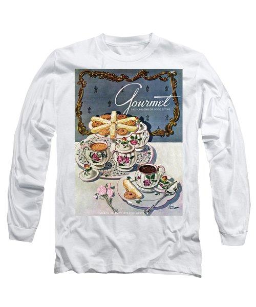 Petits Pots De Creme Long Sleeve T-Shirt
