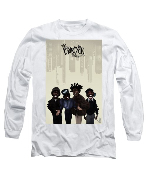 Pharcyde -passing Me By 1 Long Sleeve T-Shirt by Nelson dedos Garcia
