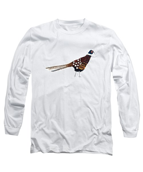 Pheasant Long Sleeve T-Shirt by Isobel Barber