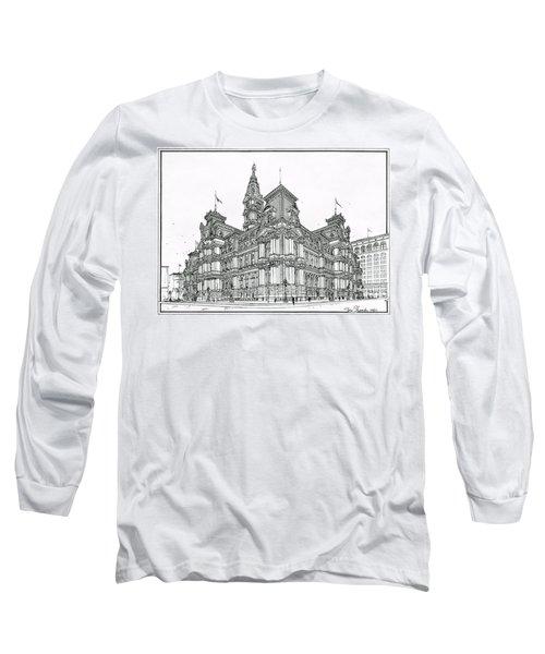 Philadelphia City Hall 1911 Long Sleeve T-Shirt