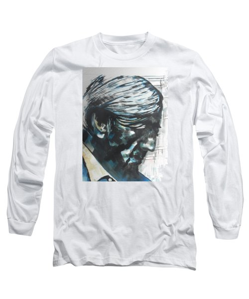 Philospher Jiddu Krishnamurti Long Sleeve T-Shirt
