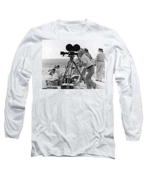 Photographers Filming An Event Long Sleeve T-Shirt