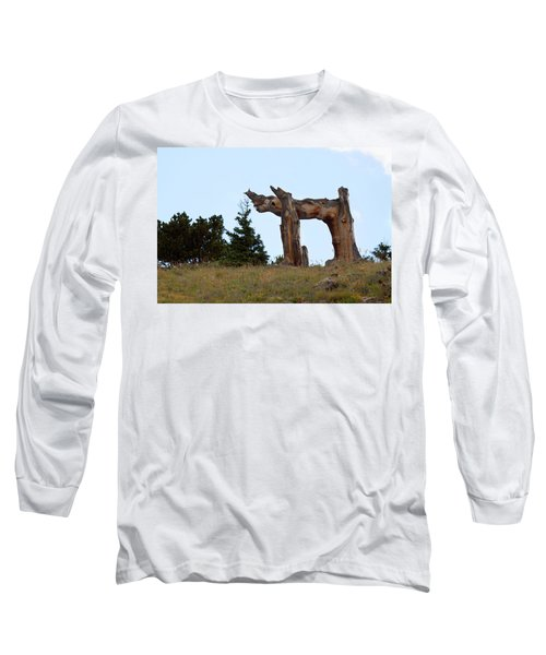 Pi In The Sky Long Sleeve T-Shirt by Jim Garrison