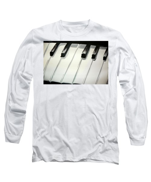 Piano Keys Long Sleeve T-Shirt
