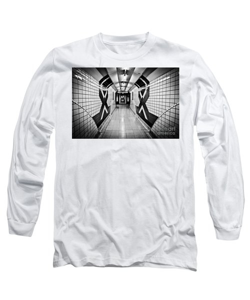 Piccadilly Circus Subway Long Sleeve T-Shirt by Lana Enderle
