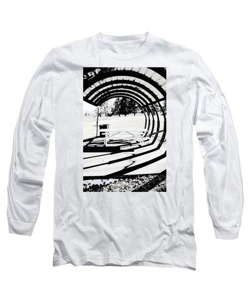 Picnic Table And Gazebo Long Sleeve T-Shirt