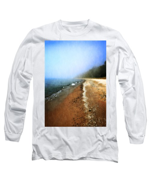 Pier Cove Beach Long Sleeve T-Shirt