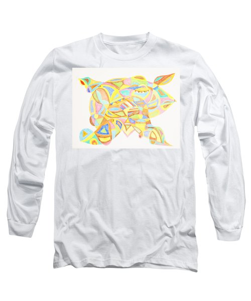 Pigs Can Fly Long Sleeve T-Shirt by Stormm Bradshaw