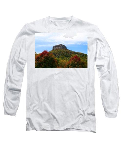 Pilot Mountain From 52 Long Sleeve T-Shirt