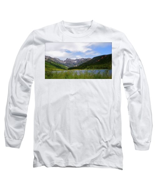 Piney Lake In Upper Vail Long Sleeve T-Shirt
