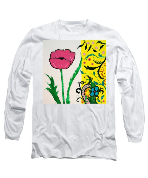 Pink Poppy And Designs Long Sleeve T-Shirt