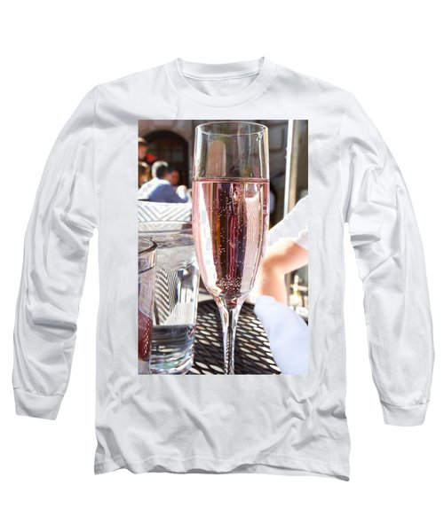 Pink Prosecco Long Sleeve T-Shirt
