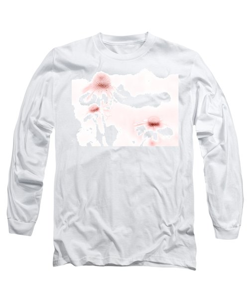Pink Sonata  Long Sleeve T-Shirt by Andrea Kollo