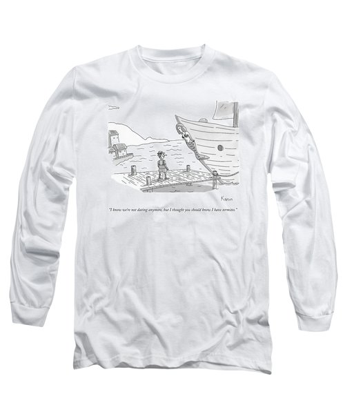 Pinocchio Addresses The Wooden Mermaid Long Sleeve T-Shirt