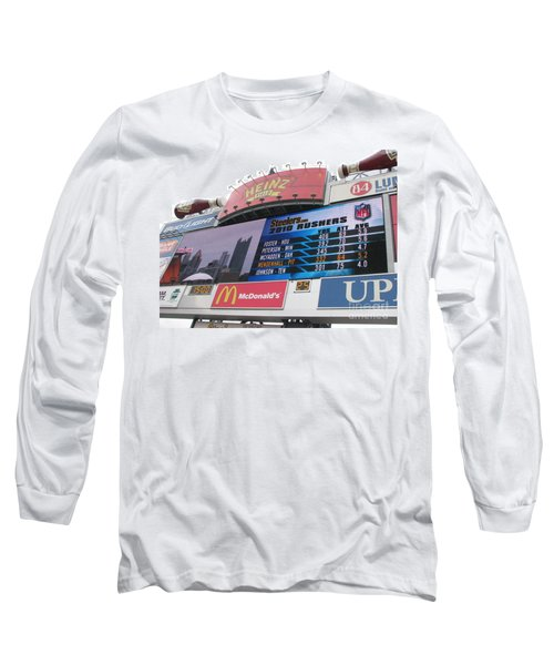 Long Sleeve T-Shirt featuring the photograph Pittsburgh Ketchup  by Michael Krek