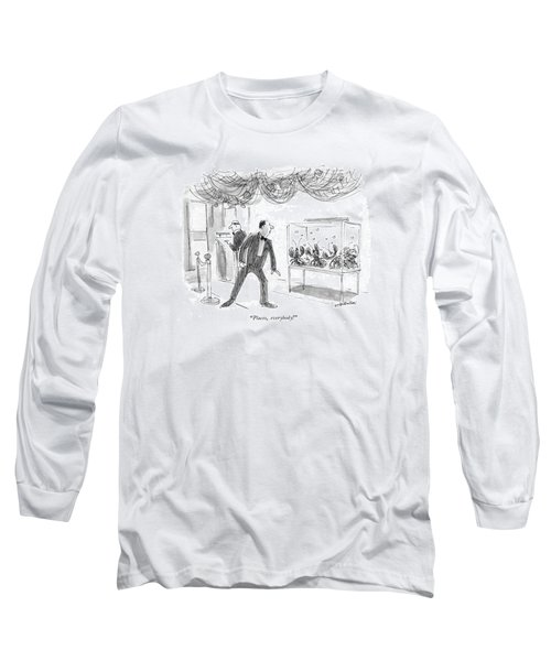Places, Everybody! Long Sleeve T-Shirt