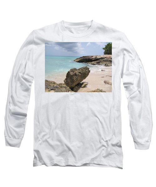 Plum Bay - St. Martin Long Sleeve T-Shirt