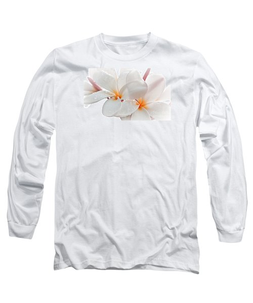 Long Sleeve T-Shirt featuring the photograph Plumeria by Roselynne Broussard