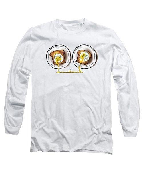 Poached Egg Love Long Sleeve T-Shirt