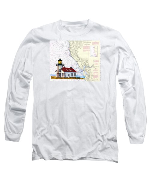 Point Cabrillo Light Station Long Sleeve T-Shirt by Mike Robles