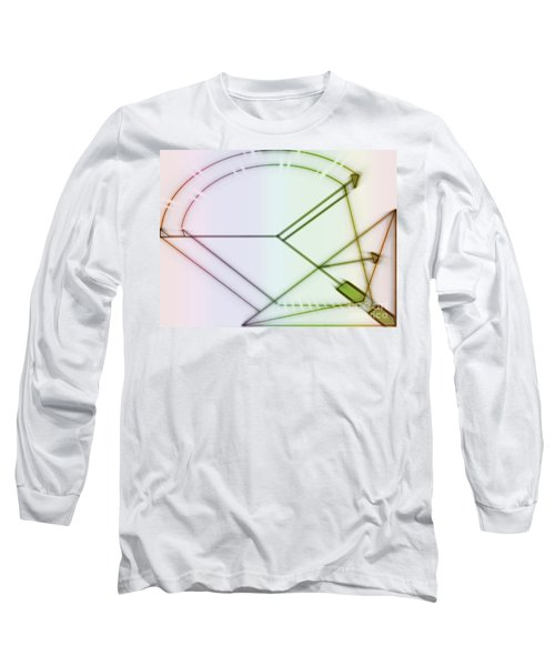 Point-out Projection Long Sleeve T-Shirt