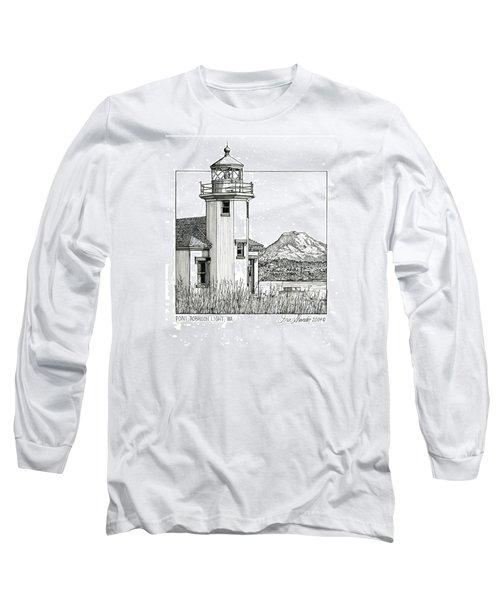 Point Robinson Light Long Sleeve T-Shirt by Ira Shander