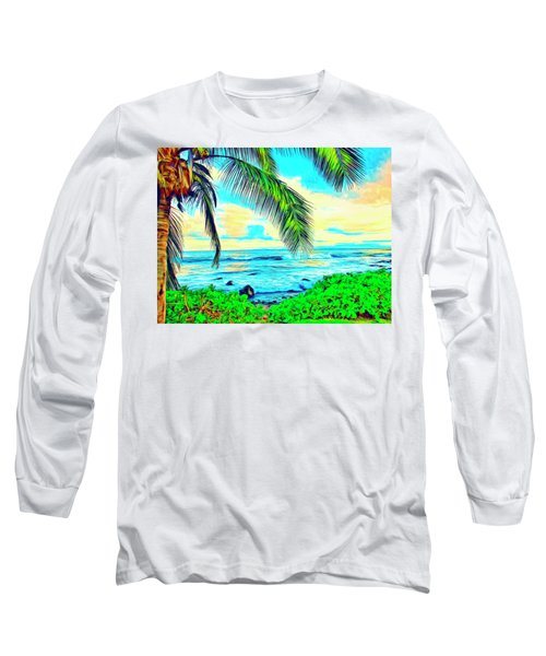 Poipu Sunrise Long Sleeve T-Shirt