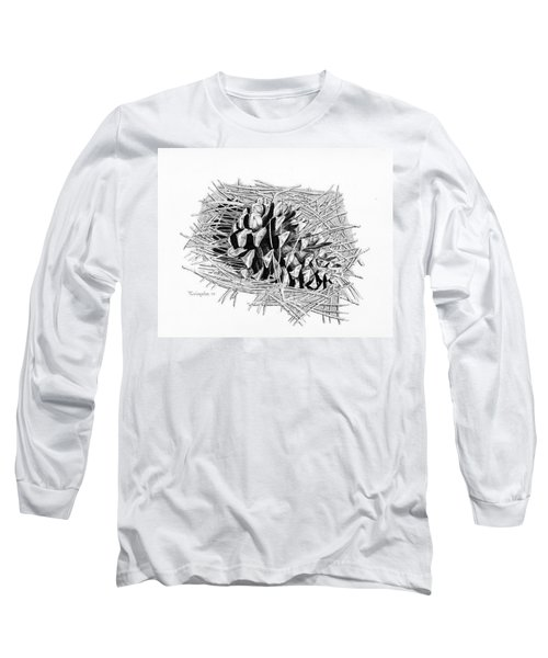Ponderosa Pine Cone Long Sleeve T-Shirt