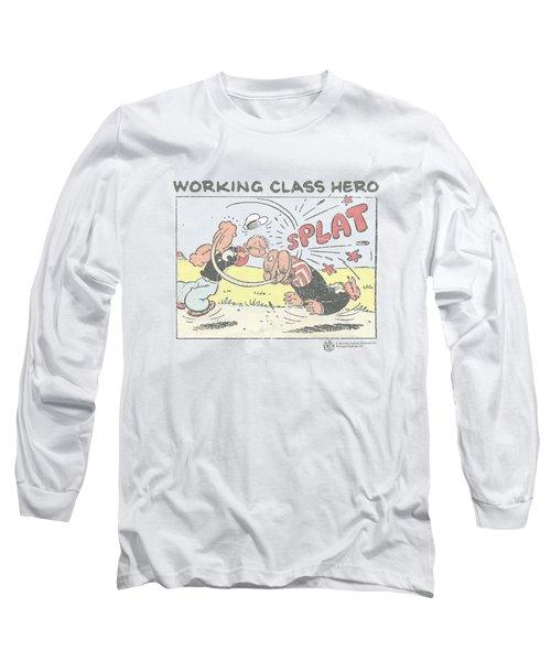 Popeye - Blue Bash Long Sleeve T-Shirt by Brand A